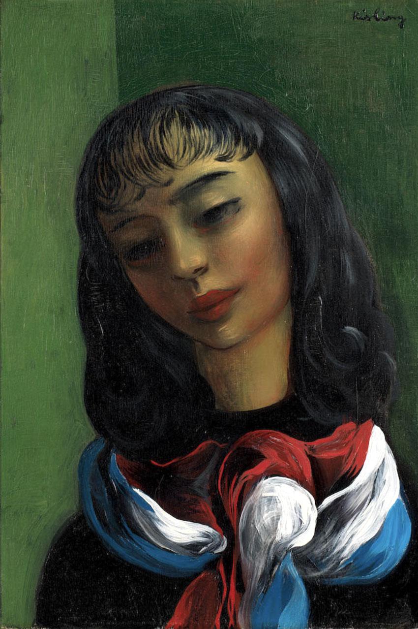 """Mojżesz Kisling (1891-1953) """"Marianna"""", źródło: Bonhams"""