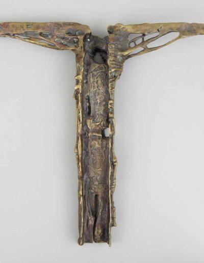 """Zdzisław Beksiński (1929-2005) """"Krzyż"""", źródło: Auktionshaus Owl"""