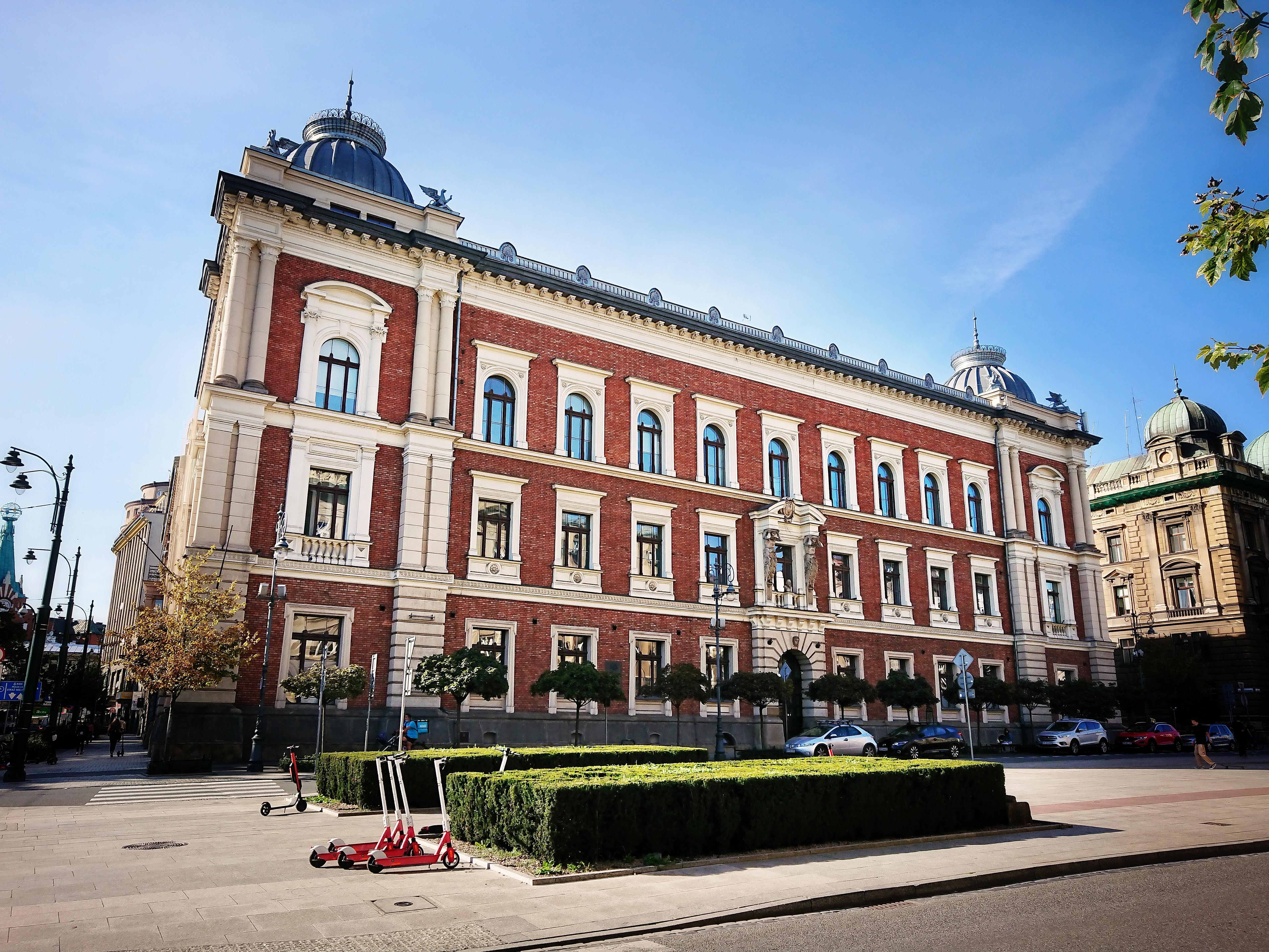 Budynek dzisiejszej ASP, oddany do użytku kilka miesięcy przed wizytą cesarza Franciszka Józefa w Krakowie, źródło: archiwum autorki