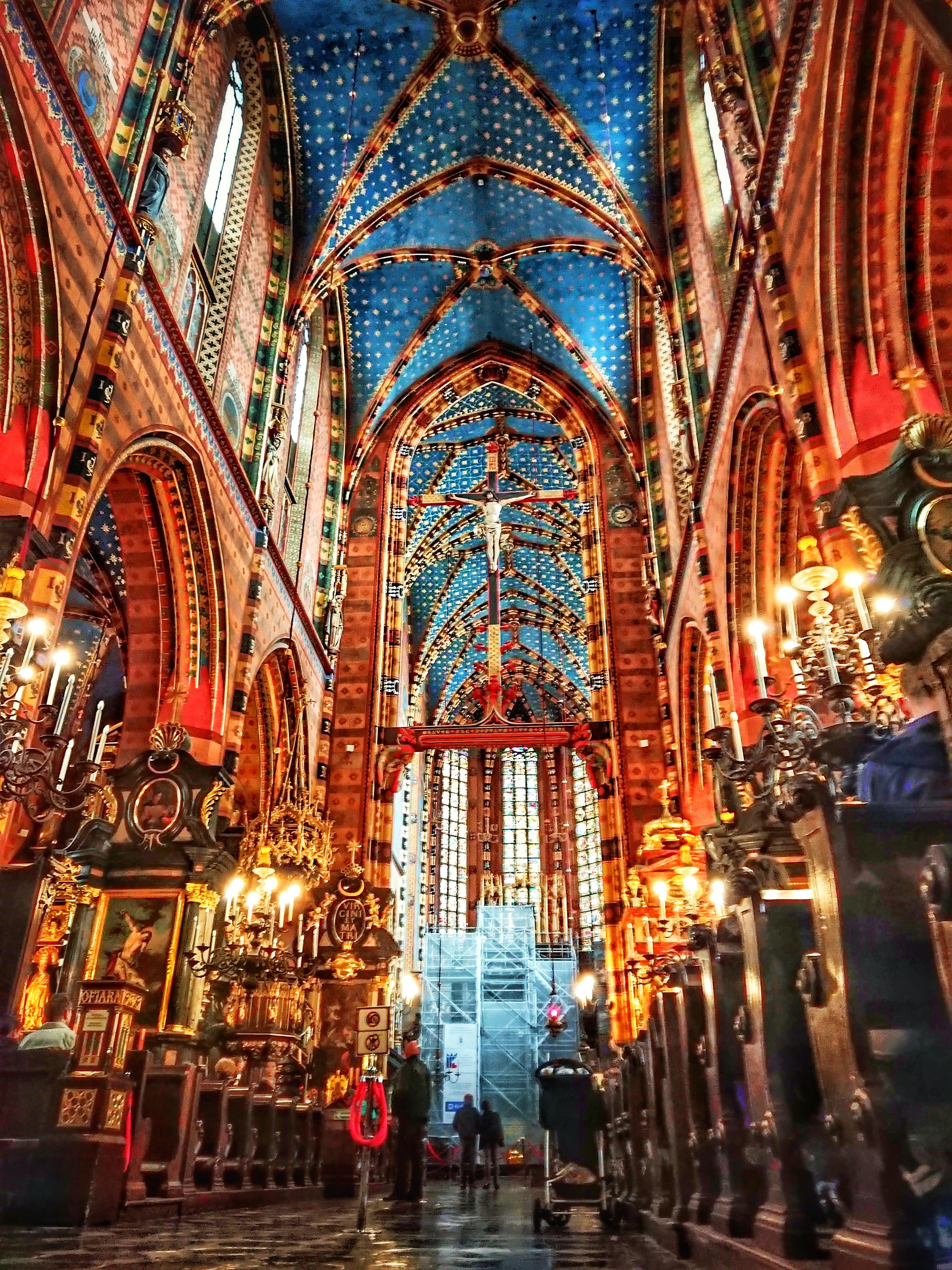 Widok nawy głównej kościoła Mariackiego, źródło: archiwum autorki