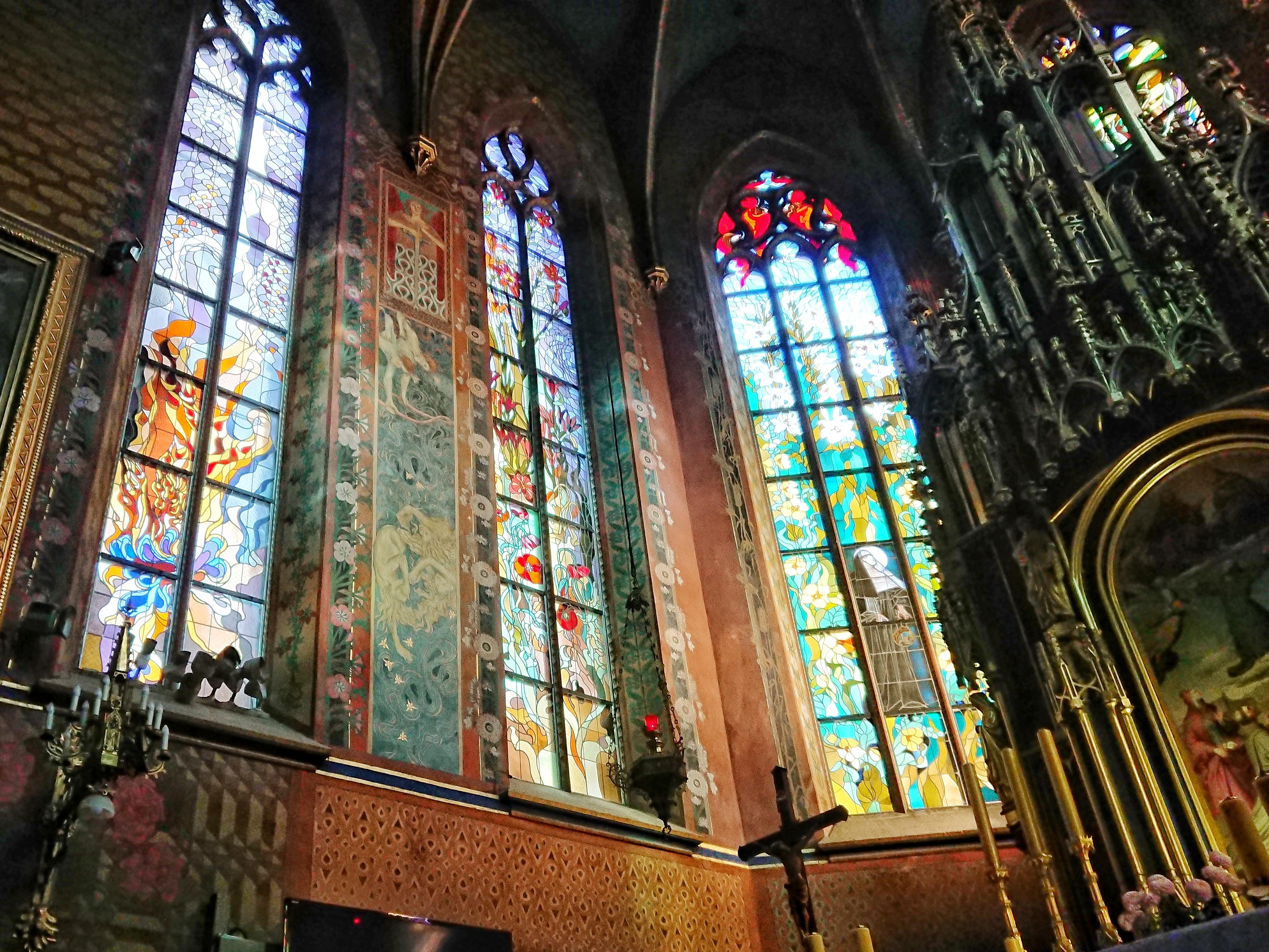 Wnętrze kościoła ojców Franciszkanów, źródło: archiwum autorki