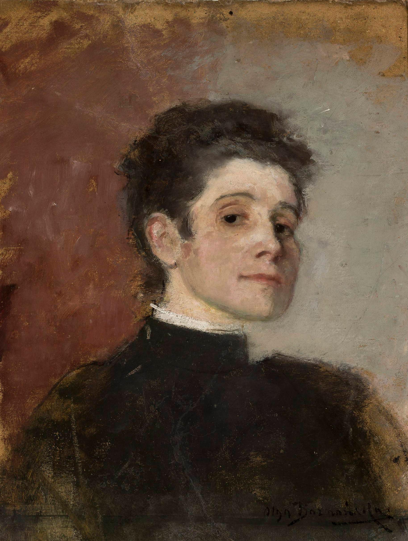 """Olga Boznańska (1865 - 1940) """"Autoportret"""", 1896 rok, źródło: Muzeum Narodowe w Warszawie"""