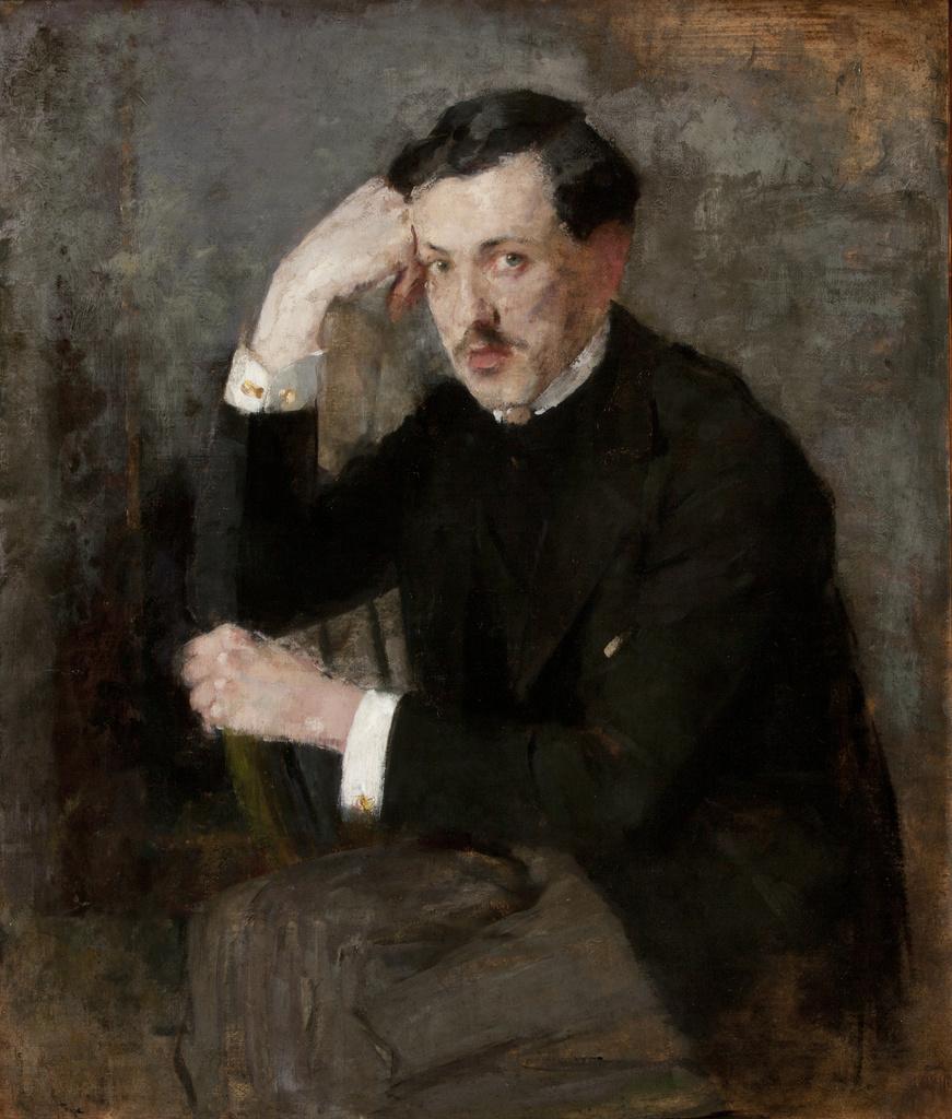 """Olga Boznańska (1865 - 1940) """"Portret Józefa Czajkowskiego"""", 1894 rok, źródło: Muzeum Narodowe w Krakowie"""