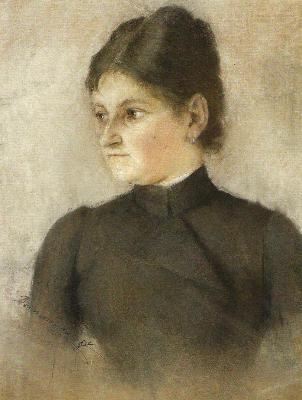 """Olga Boznańska (1865 - 1940) """"Portret siostry Izy Boznańskiej"""", 1887 rok, źródło: Agra-Art"""