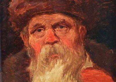 """Roman Kochanowski (1856-1945) """"Głowa starca"""", źródło: Kaupp"""