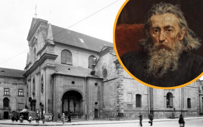 Krakowskim szlakiem Jana Matejki – Kościół Karmelitów na Piasku