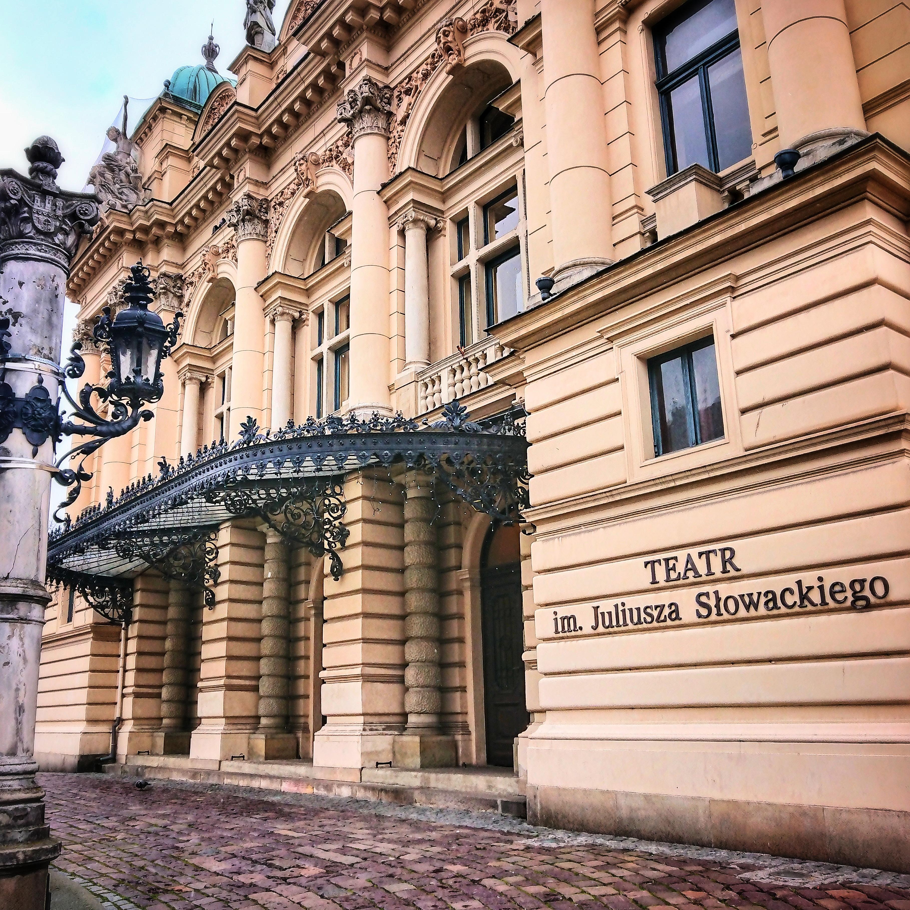Teatr im. Juliusza Słowackiego, źródło: archiwum autorki