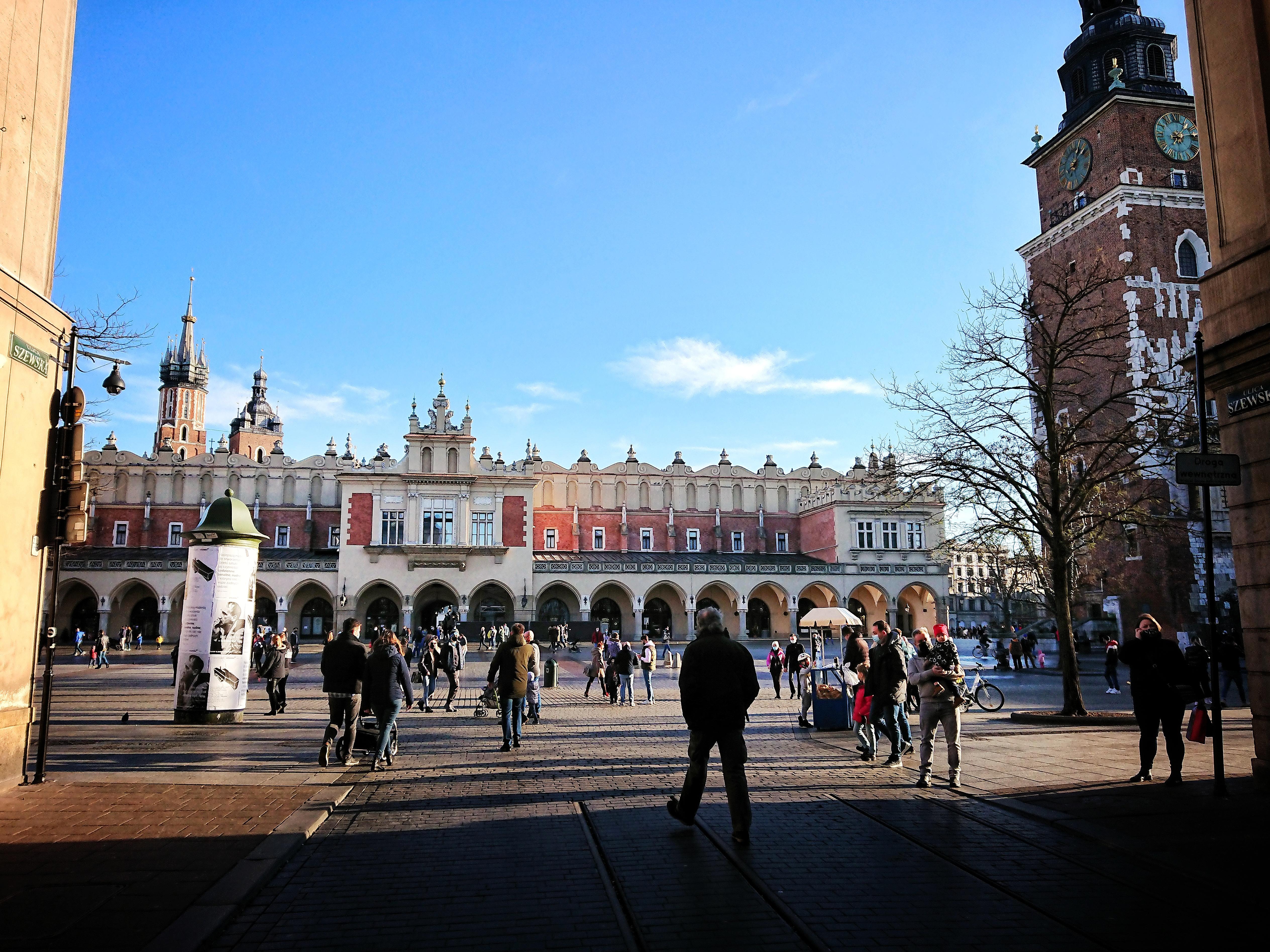 Dzisiejszy widok na Rynek Główny z ul. Szewskiej, źródło: archiwum autorki
