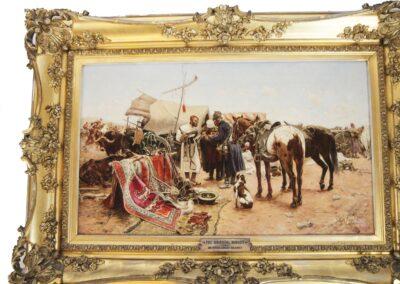 """Józef Brandt (1841-1915) """"Jarmark w Bałcie na Podolu"""", źródło: Roland NY"""