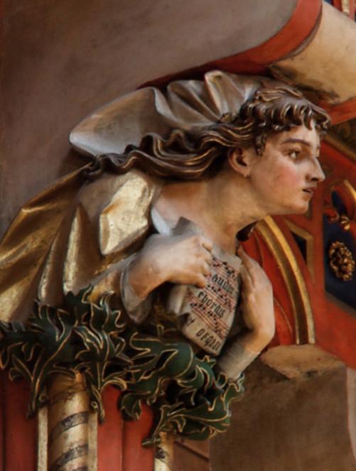 Święta Cecylia według projektu Jana Matejki, źródło: pajorama.eu