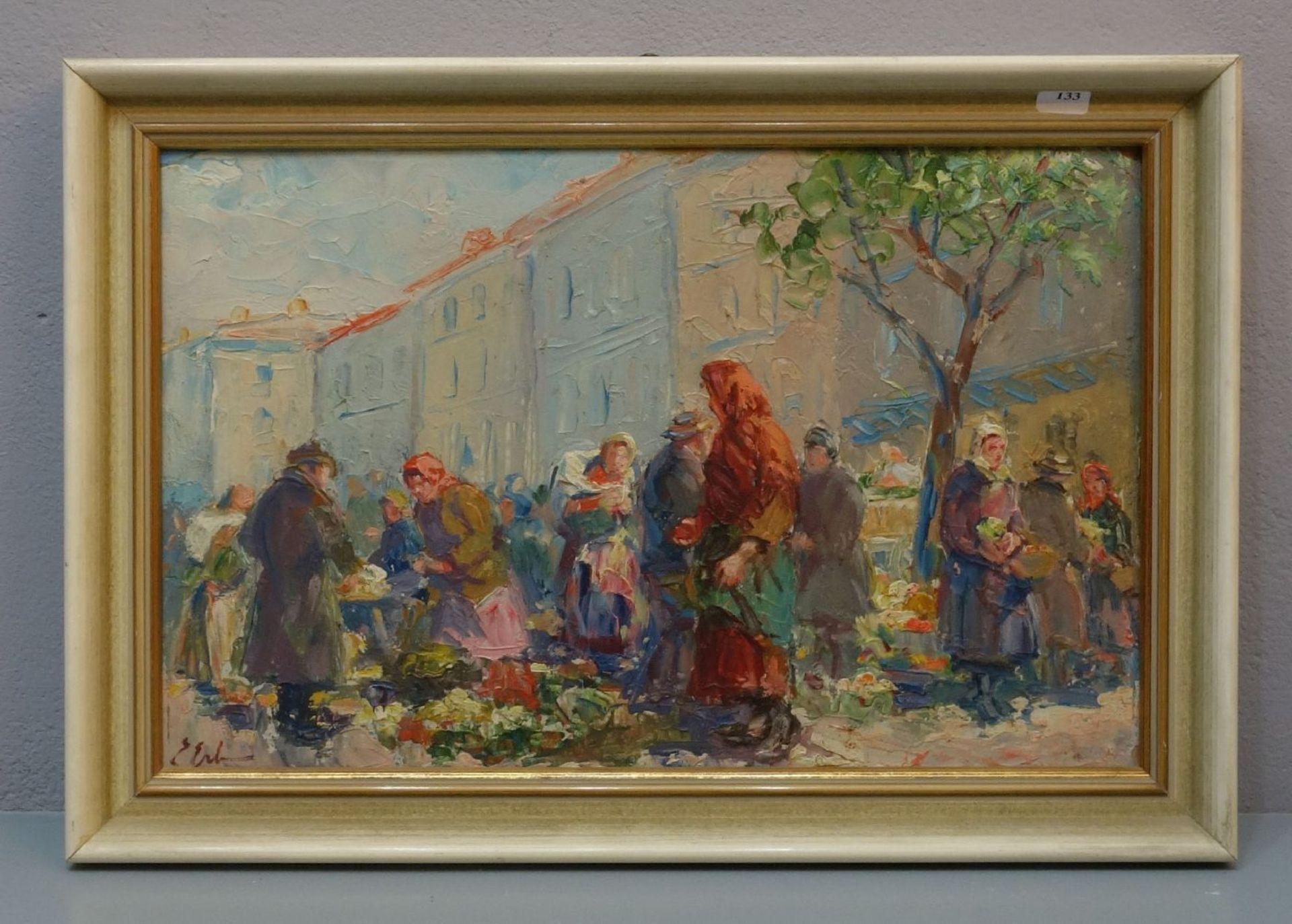 """Erno Erb (1878-1943) """"Na lwowskim targu"""", źródło: Auktionshaus Rheine"""