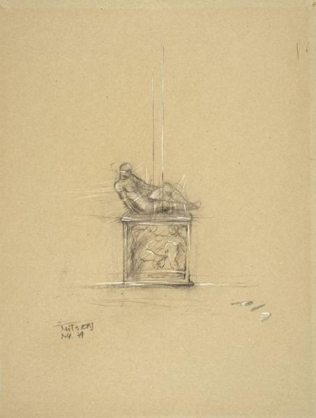"Igor Mitoraj (1944-2014) ""Projekt rzeźby"", źródło: Expertises.com"