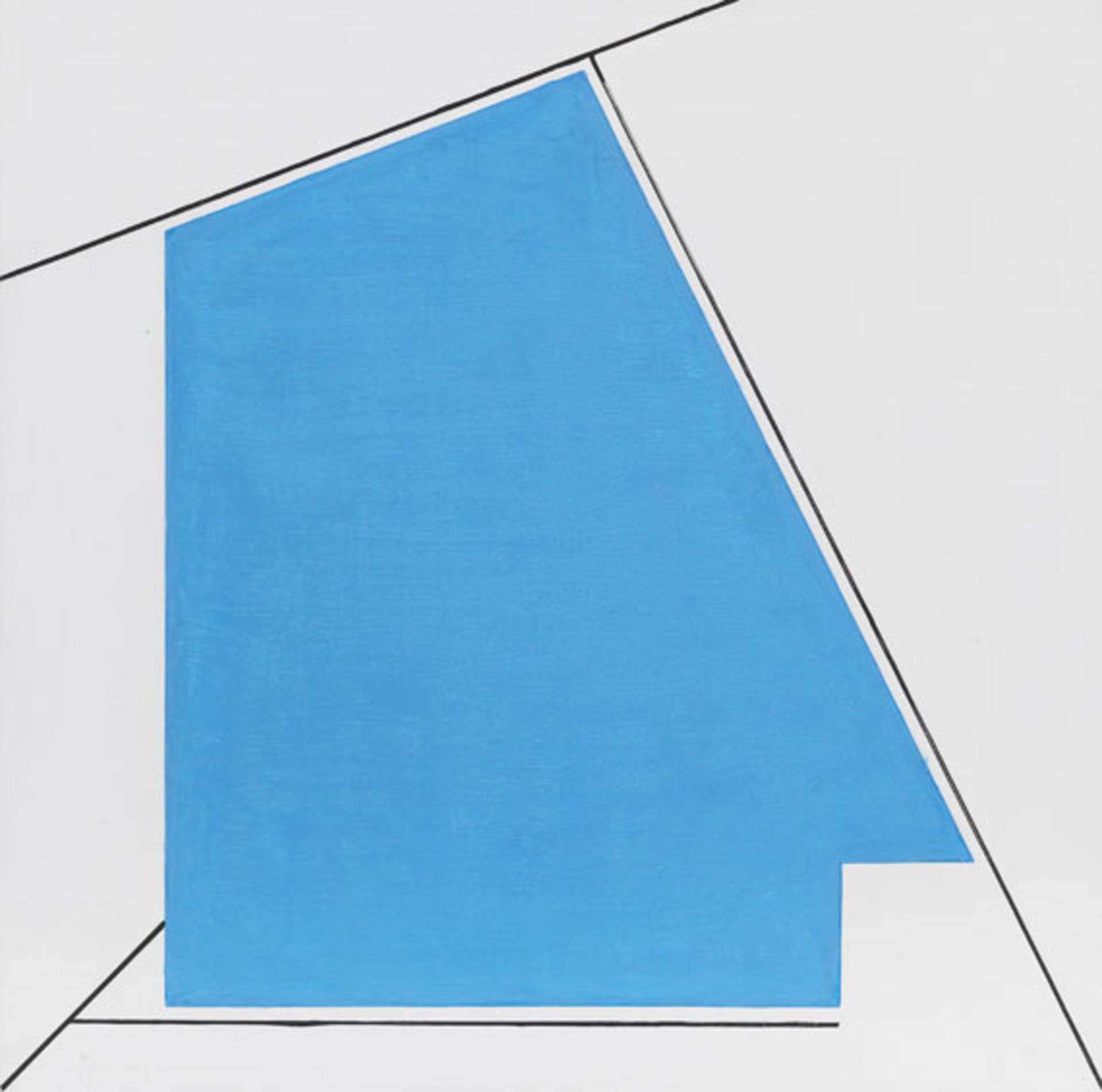 """Henryk Stażewski (1894-1988) """"Bez tytułu"""", źródło: Ketterer Kunst"""