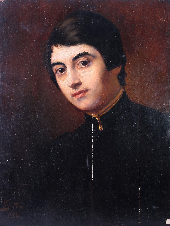 "Jan Styka (1858-1925) ""Portret dziecka"", źródło: Maison Bibelot"