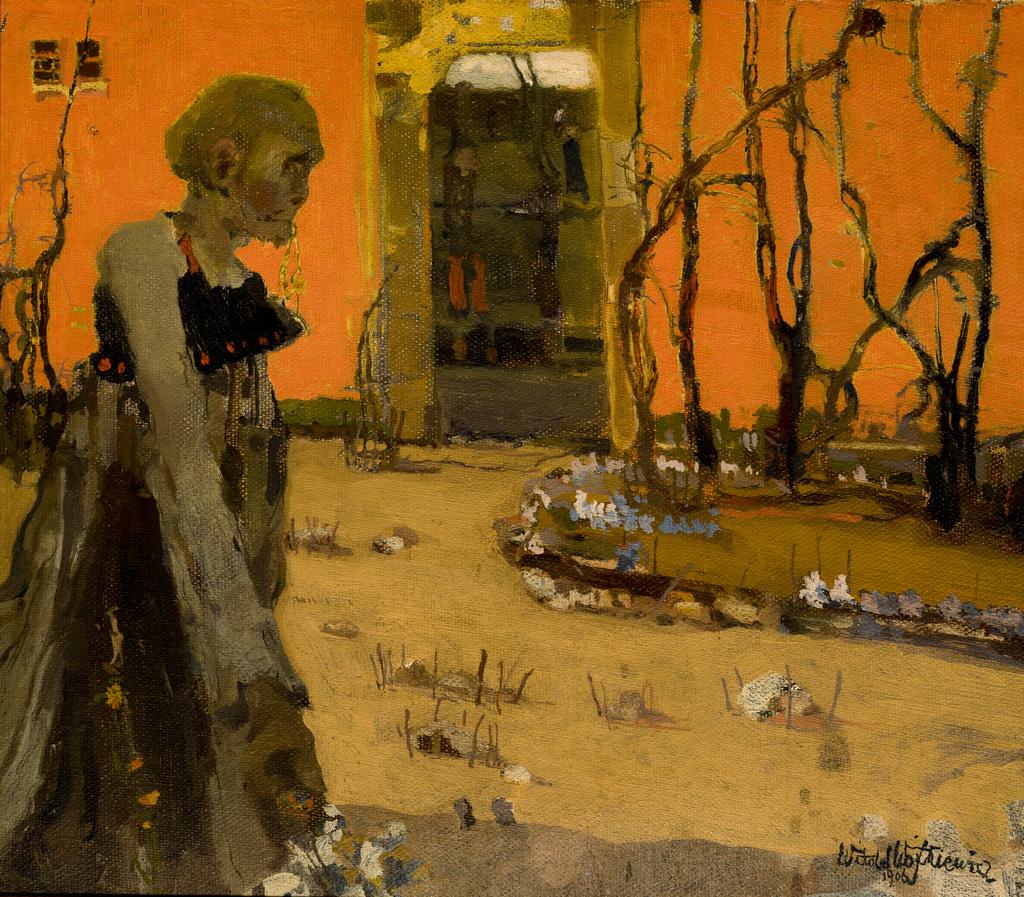 """Witold Wojtkiewcz (1879-1909) """"Fantazja"""", 1906 rok, źródło: Muzeum Narodowe w Krakowie"""