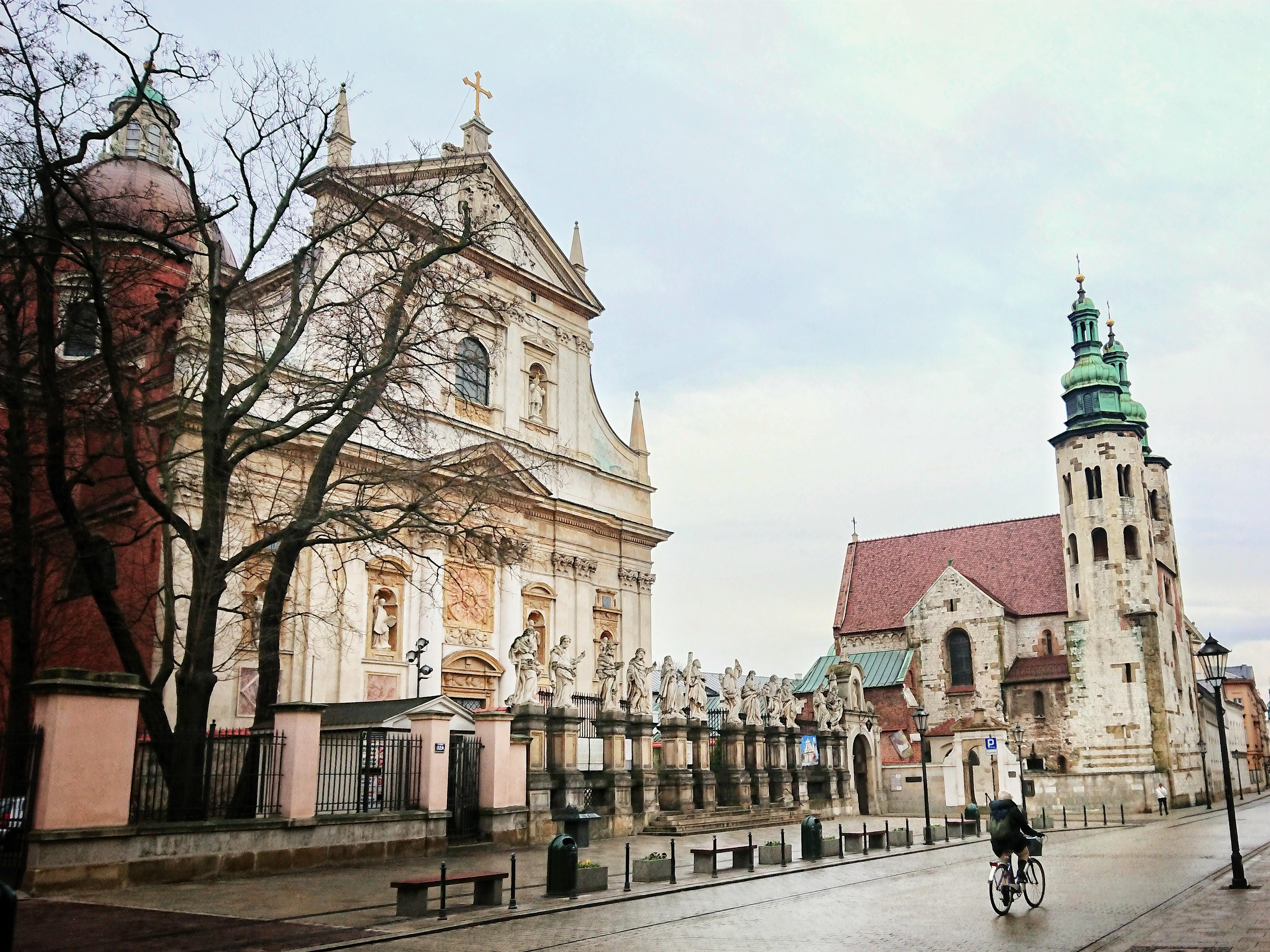 Ulica Grodzka w Krakowie, 2020 rok, źródło: archiwum autorki