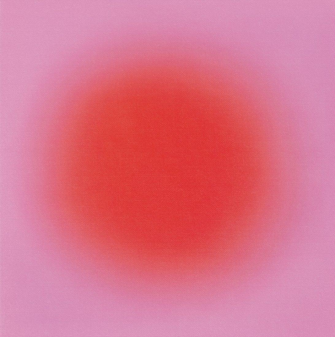 "Wojciech Fangor (1922-2015) ""M62"", źródło: Berry Art & Auctions"