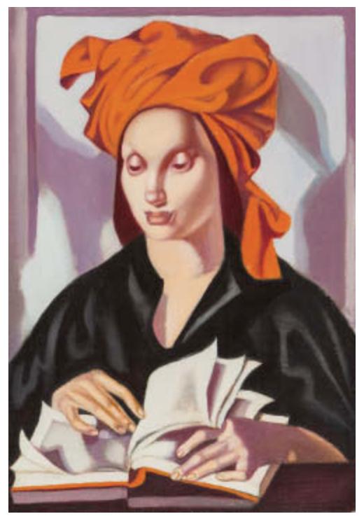 """Tamara Łempicka (1898-1980) """"La sagesse IV (Mądrość)"""", źródło: Mainichi Auction"""