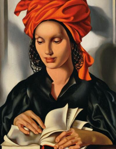 """Tamara Łempicka (1898-1980) """"La sagresse I"""" ok. 1940"""