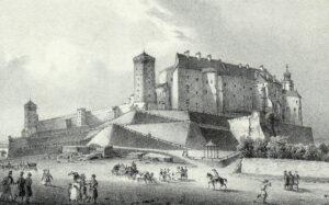 Krakowskim szlakiem: Widok na Wawel Jana Nepomucena Głowackiego