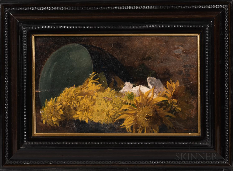 "Roman Kochanowski (1857-1945) ""Martwa natura"", źródło: Skinner Inc."