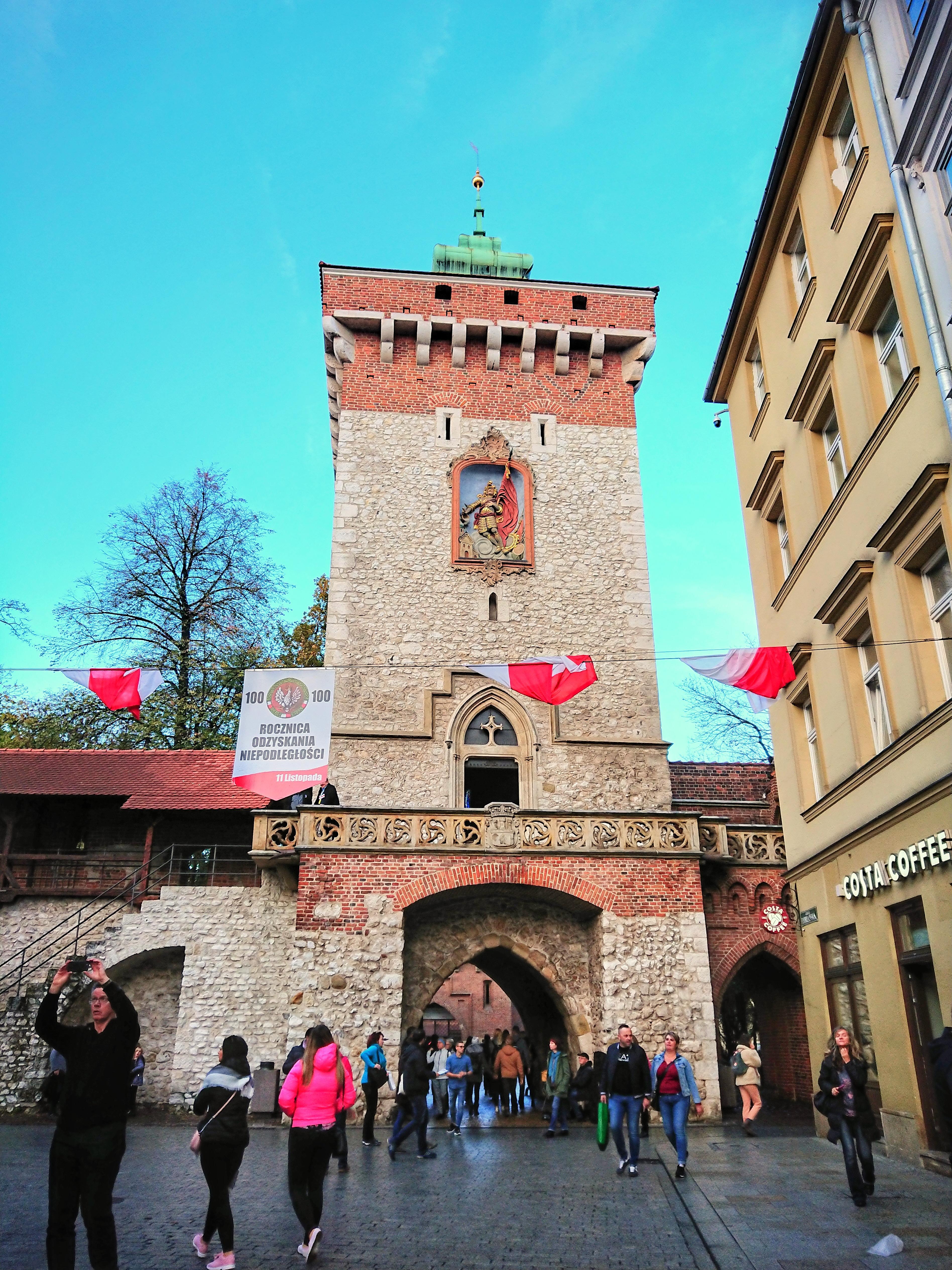 Brama Floriańska, źródło: archiwum autorki