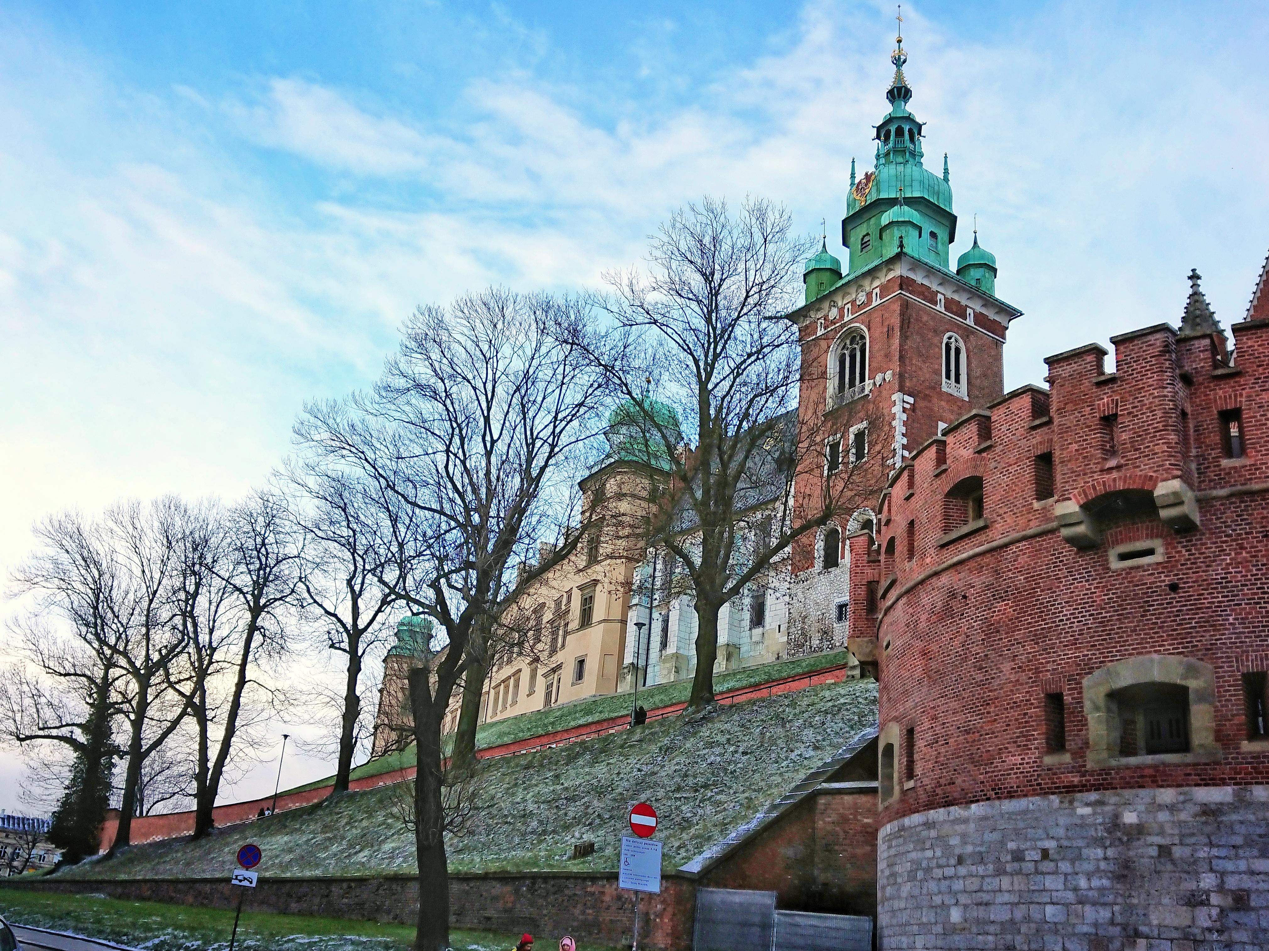 U stóp Wawelu, źródło: archiwum autorki