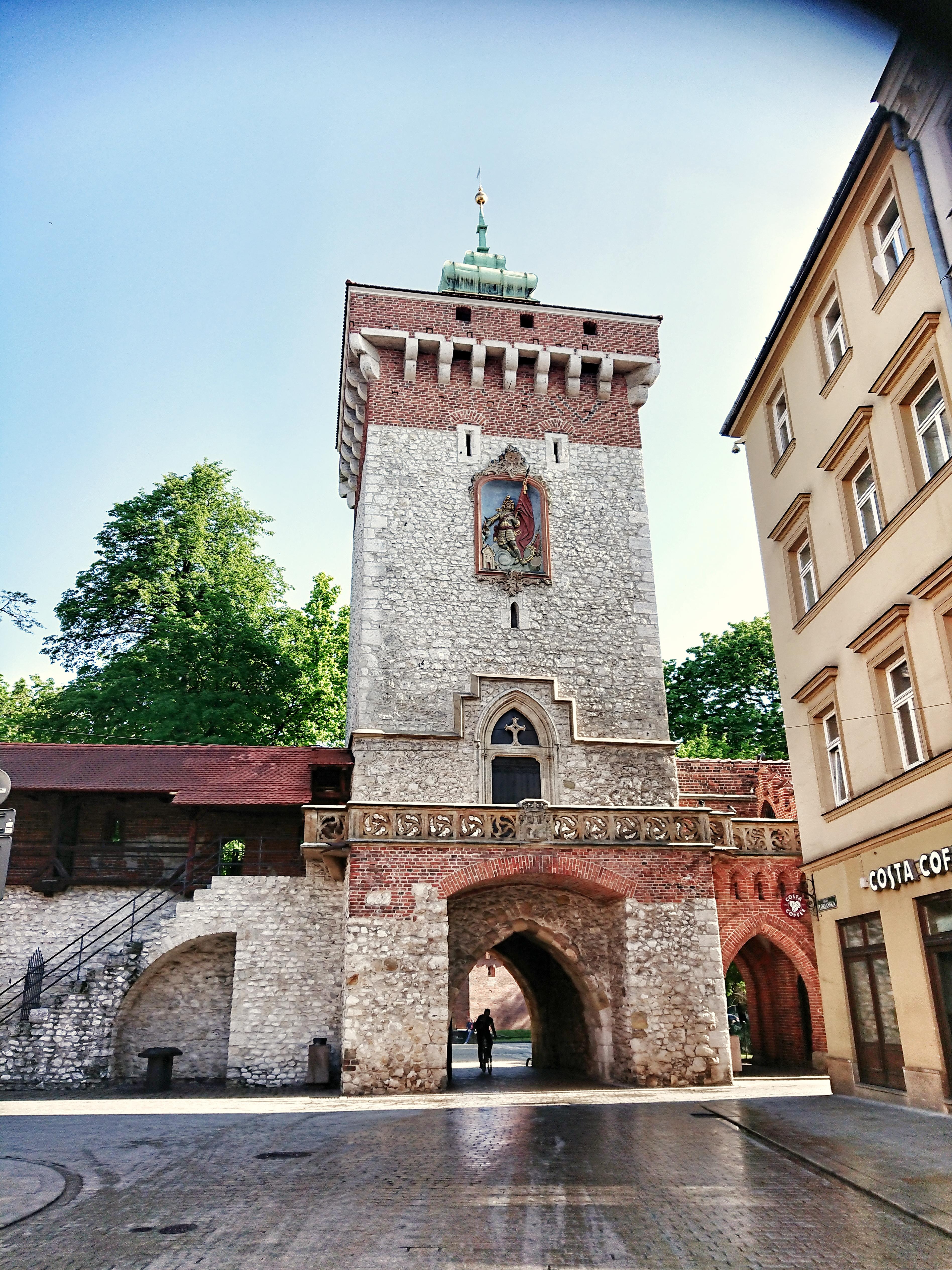 Brama Floriańska w Krakowie, źródło: archiwum autorki