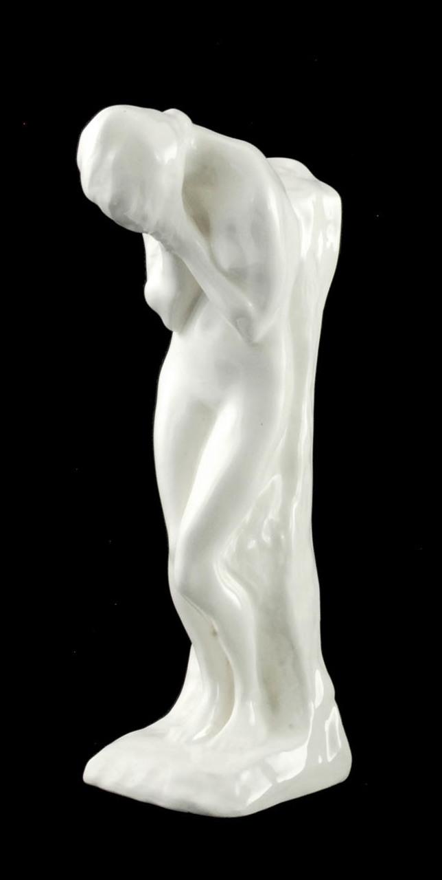 """Konstanty Laszczka (1865-1956) """"Zrozpaczona"""", lata 20. XX w., Skawina, źródło: Rempex"""