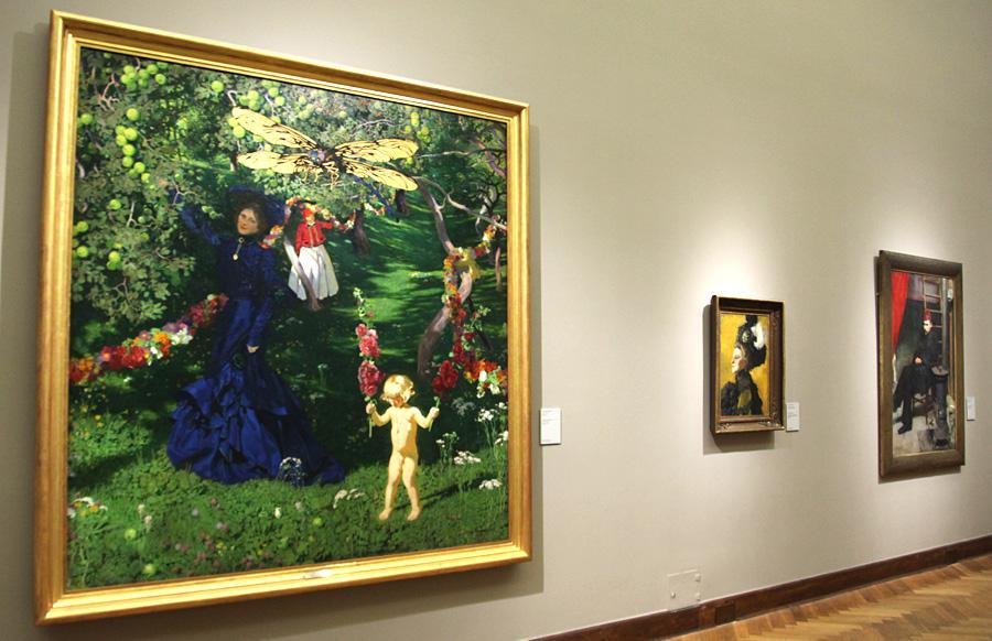 Obrazy Józefa Mehoffera w Muzeum Narodowym w Warszawie: źródło: archiwum autora