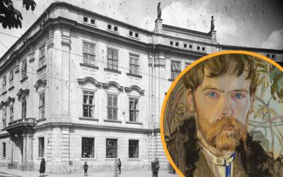 Krakowskim szlakiem Stanisława Wyspiańskiego – Pałac Larischa