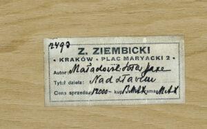 PRZEDWOJENNE ANTYKWARIATY: Skład Zygmunta Ziembickiego