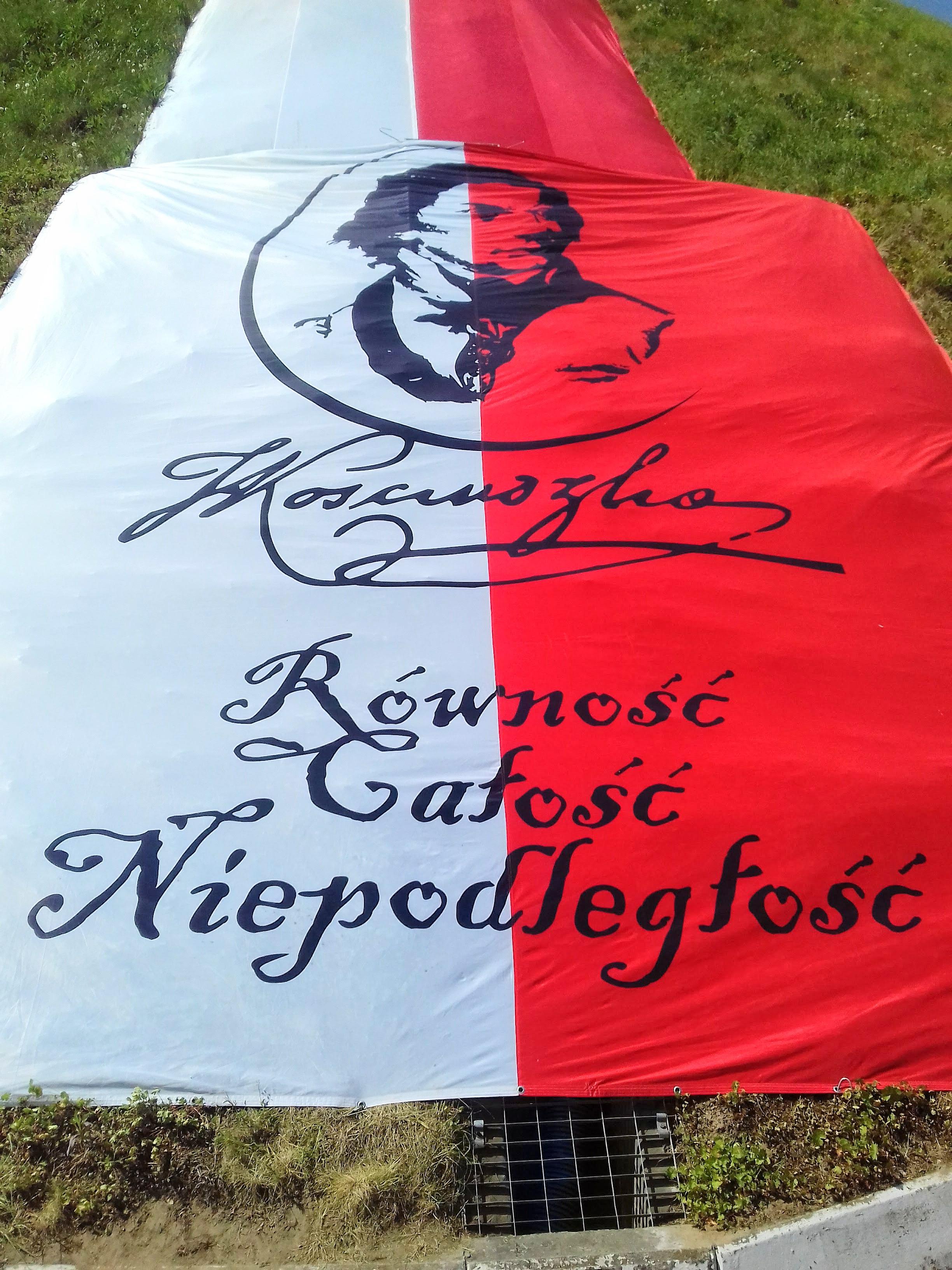 Dekoracja Kopica Kościuszki, źródło: archiwum autorki
