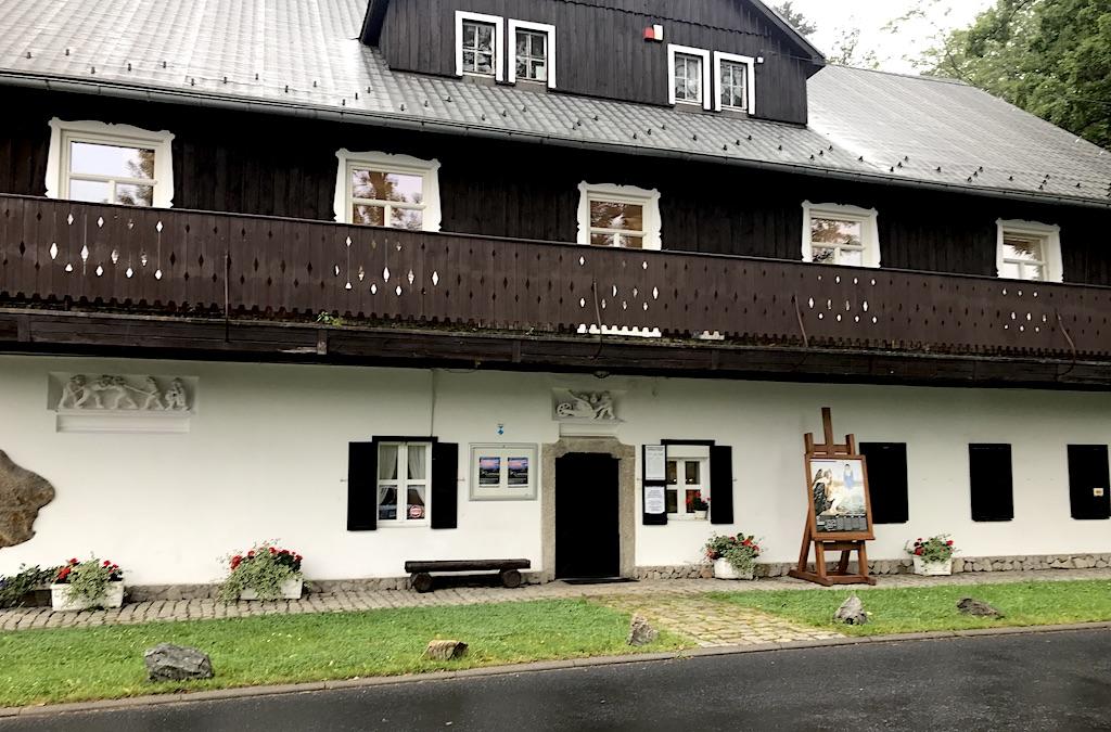 Dom Garharta i Carla Hauptmannów - oddział Muzeum Karkonoskiego, źródło: archiwum autora