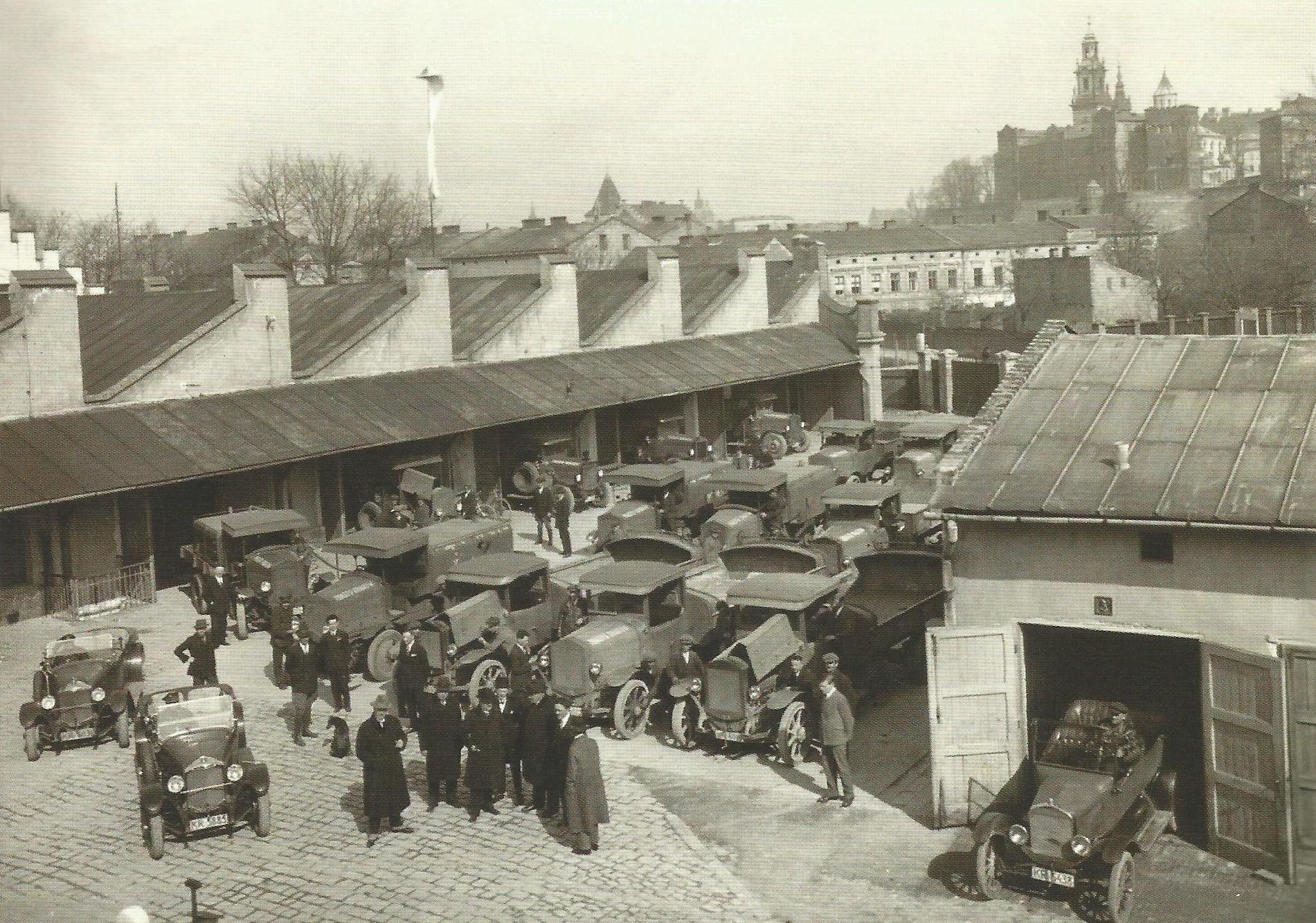 Zabudowania byłej fabryki Niedźwieckiego na Dębnikach, 1927 rok, źródło: Muzeum Krakowa