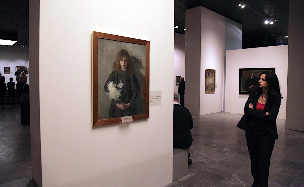 Z wystawy Olgi Boznańskiej w Krakowie, źródło: archiwum autora