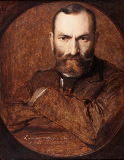 """Damazy Kotowski (1861-1943) """"Portret Feliksa Jasieńskiego"""", 1901 rok, źródło: Muzeum Narodowe w Krakowie"""