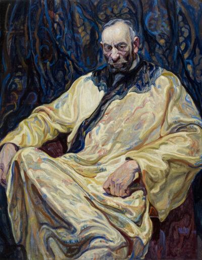 """Małgorzata Łada-Maciągowa (1881-1969) """"Portret Feliksa Jasieńskiego"""", 1921 rok, źródło: Muzeum Narodowe w Krakowie"""
