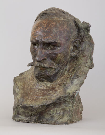 """Konstanty Laszczka (1865-1956) """"Portret Mangghi"""", 1902 rok, źródło: Muzeum Narodowe w Krakowie"""