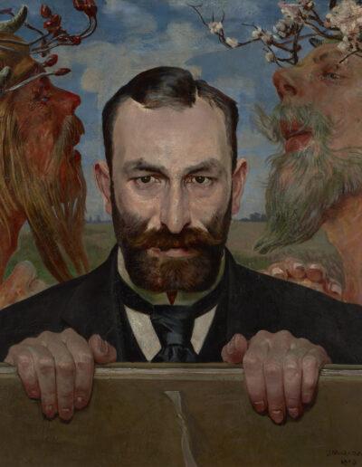 """Jacek Malczewski (1854-1929) """"Portret Feliksa Jasieńskiego"""", 1903 rok, źródło: Muzeum Narodowe w Krakowie"""