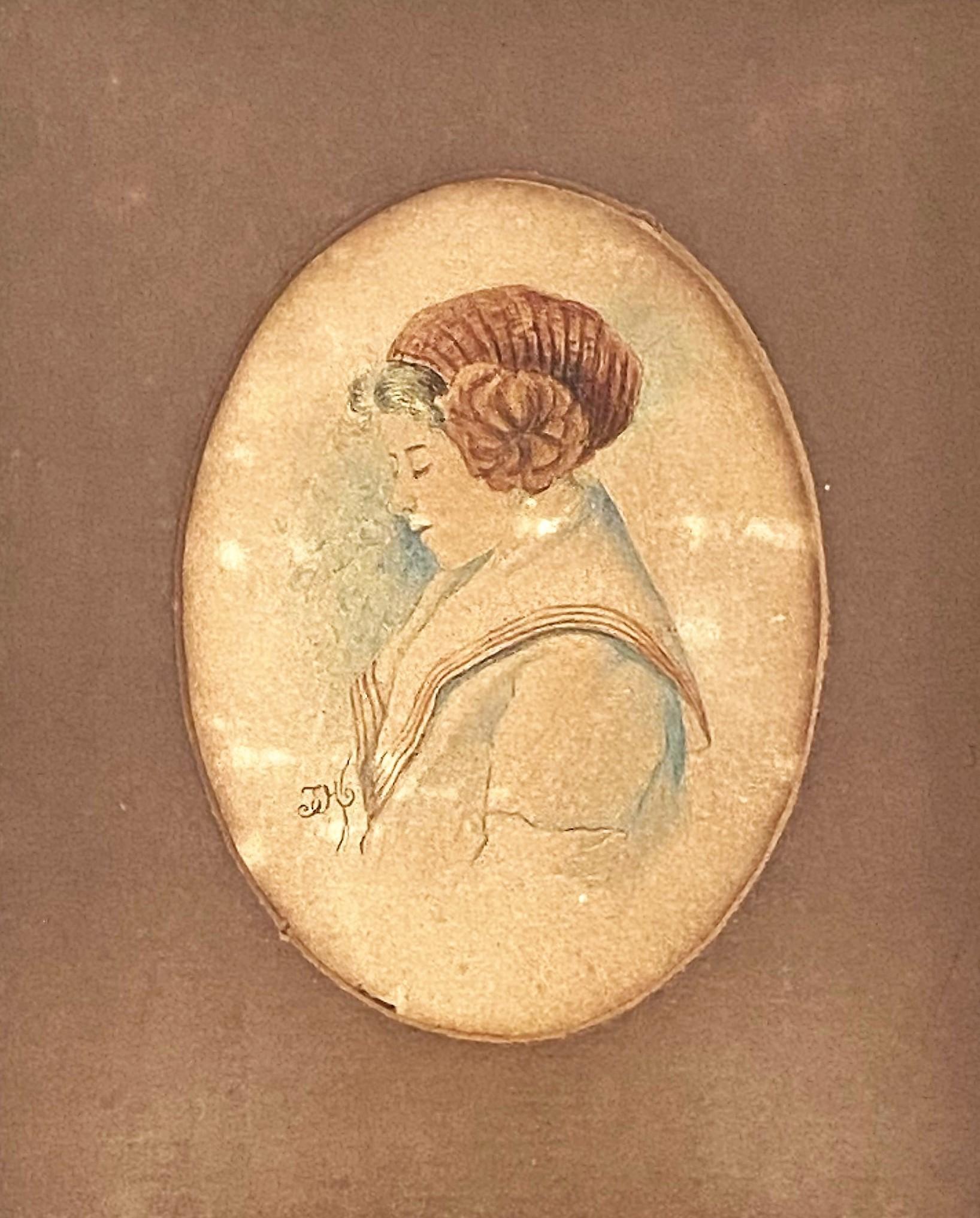 "Jan Matejko (1838-1893) ""Portret kobiety"", źródło: Coral Gables Auction"