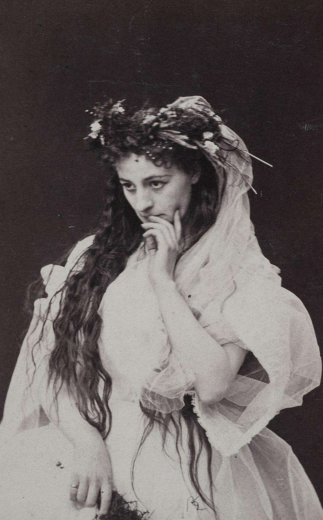 Helena Modrzejewska jako Ofelia, fot. Walery Rzewuski