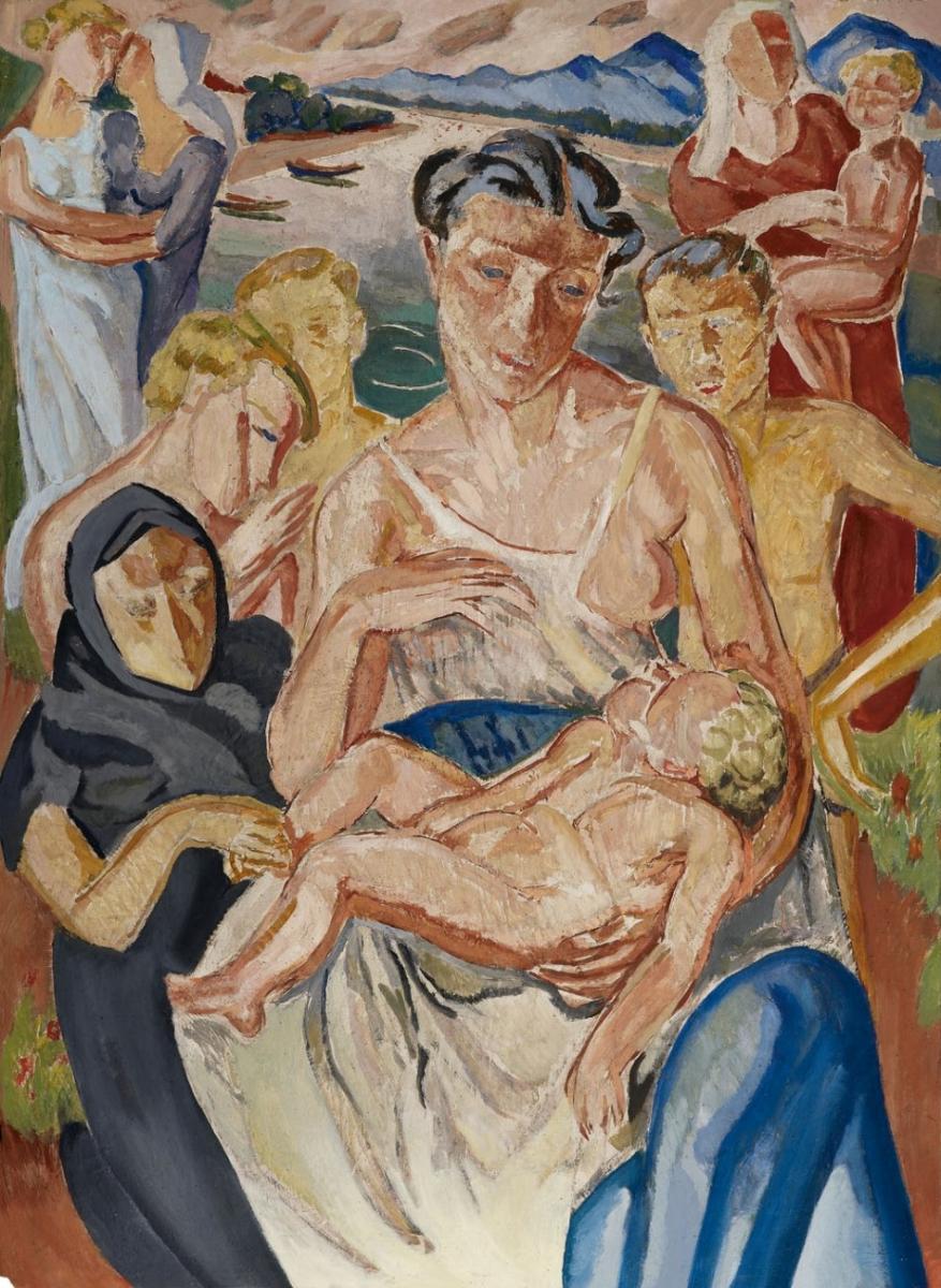 """Mela Muter (1876-1967) """"Pieta"""", źródło: Lempertz"""