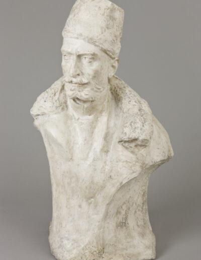 """Stanisław Kazimierz Ostrowski (1879-1947) """"Popiersie Feliksa Jasieńskiego"""", 1901 rok, źródło: Muzeum Narodowe w Krakowie"""