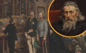 Krakowskim szlakiem Jana Matejki - Floriańska 41. Wizyta Cesarza