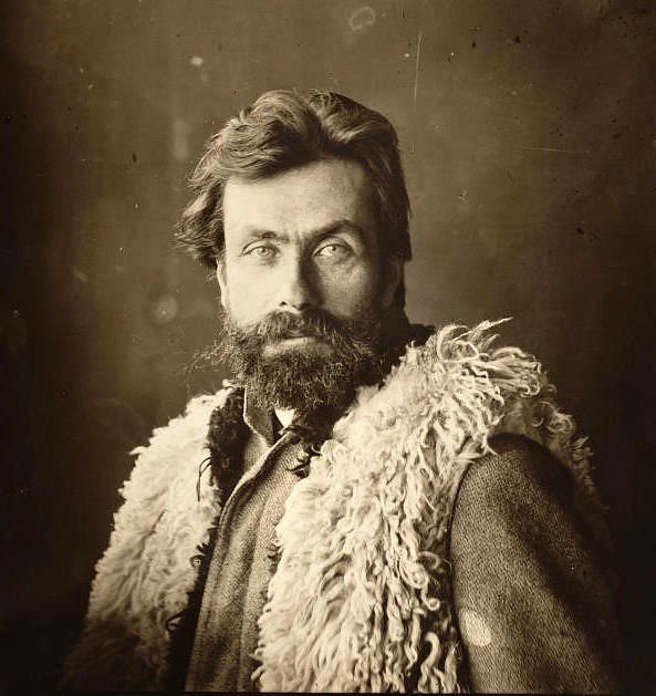 Stanisław Witkiewicz, około 1890 roku, źródło: Muzeum Tatrzańskie w Zakopanem