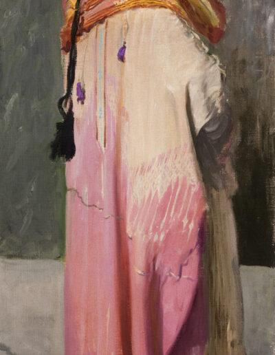"""Leon Wyczółkowski (1852-1936) """"Portret Feliksa Jasieńskiego w stroju beduina"""", między 1906 a 1910 rokiem, źródło: Muzeum Narodowe w Krakowie"""