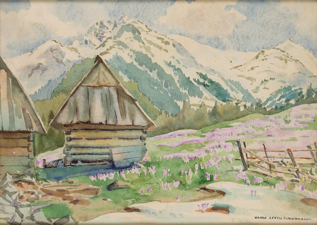 """Wanda Gentil-Tippenhauer (1899-1965) """"Wiosna"""", źródło: Desa Unicum"""