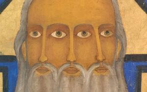 Wizerunek Trójcy Świętej o trzech twarzach
