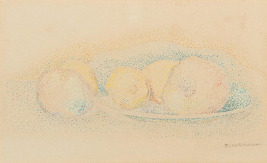 """Zygmunt Waliszewski (1897-1936) """"Martwa natura"""", źródło: Millon"""